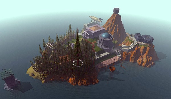 Oh Myst island. You were only the beginning...