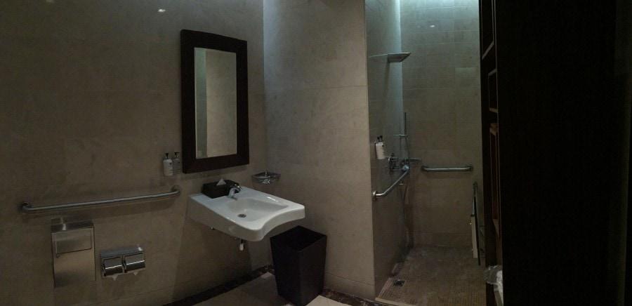 Dubai airport showers.
