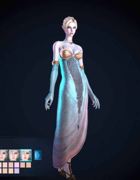 Cocktail dress elf!