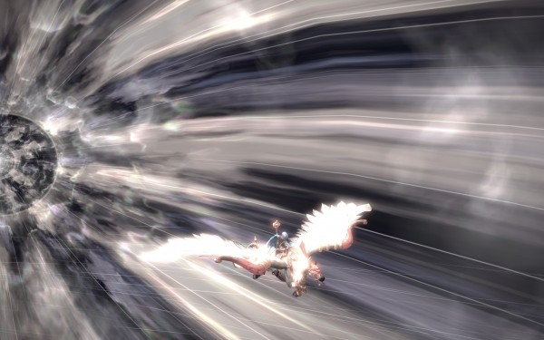 Oh. Did I mention you fast travel by flying on a ping pegasus THROUGH A WORMHOLE?