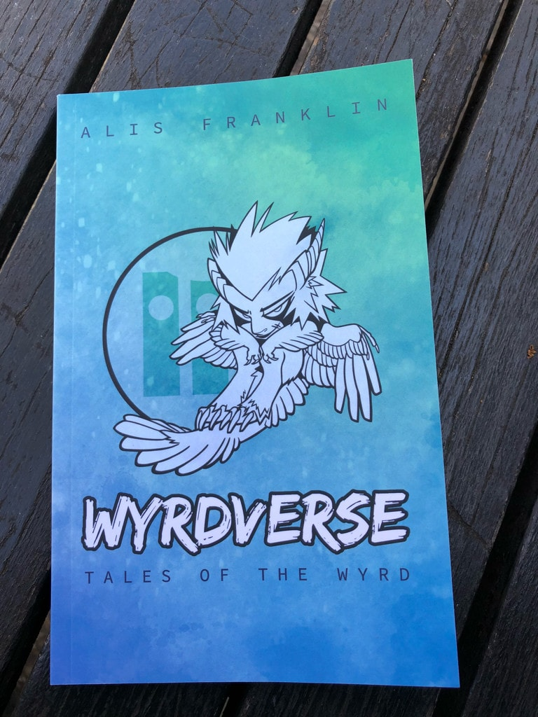 WYRDVERSE print cover.
