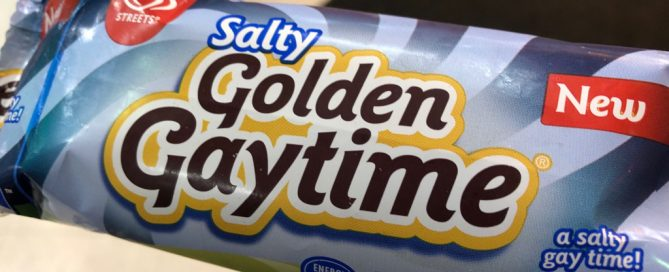 A Salty Golden Gaytime icecream.