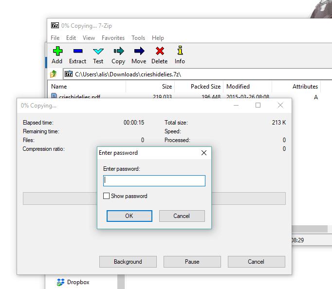 Dropbox file.